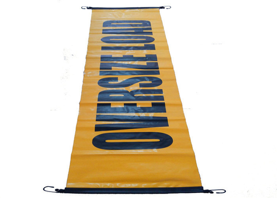 China Oversize Or Wide Load Vinyl Signs And Banners , Personalized Vinyl Banner supplier
