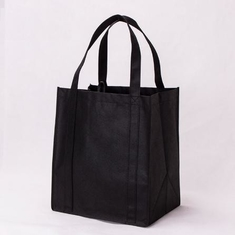 China Customized Color PP Non Woven Bags , Small Non Woven Tote Bags With Long Handle supplier