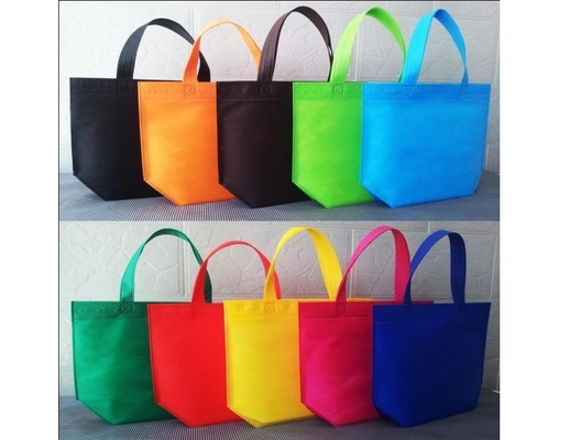 China Custom Ultrasonic Laminated Non Woven Polypropylene Bags Offset Printing Multifunction supplier
