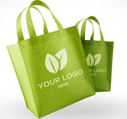 China Custom Promotional PP Non Woven Bags Shopping Use 35*40*10cm With Logo Print supplier