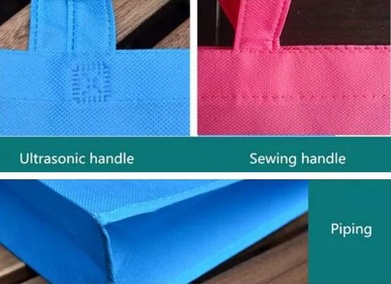 Reusable PP Non Woven Bags Eco - Friendly Heat Sealing Type For Women Shopping