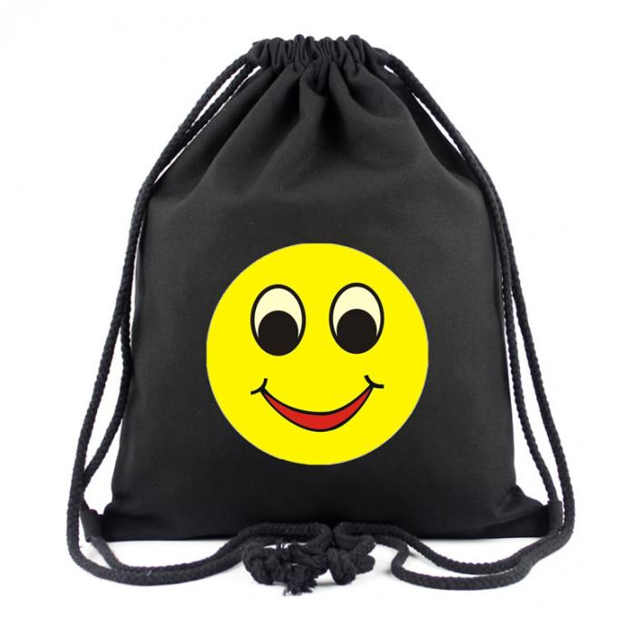 Promotional Printed Drawstring Bags Waterproof Sports Type Polyester With Logo