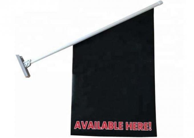 Indoor Small Wall Flag Pole / Decorative House Mounted Flag Pole Kits
