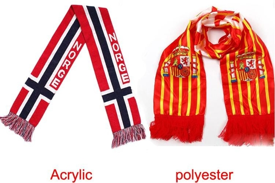 Champions League Fan Scarf Professional Personalized Decorative Jacquard Style
