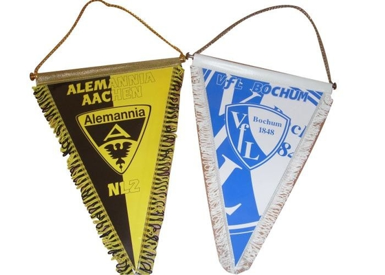 World Cup Wall Hanging Banner , Football Club Table String Hanging Pennants